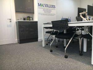 Carpet Tiles for an office (1)